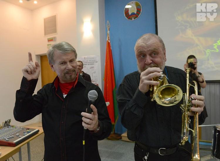 Анатолий Кашепаров приехал в Минск в отличном настроении и весело шутил весь мастер-класс.