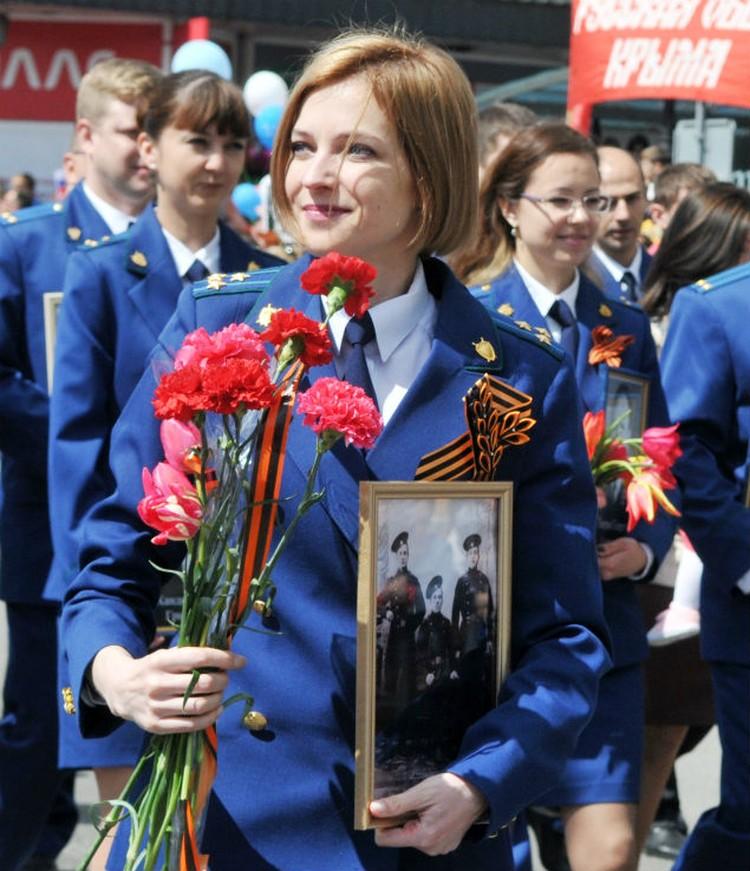 Наталья Владимировна подключилась к народной акции. Фото: Александр Кадников