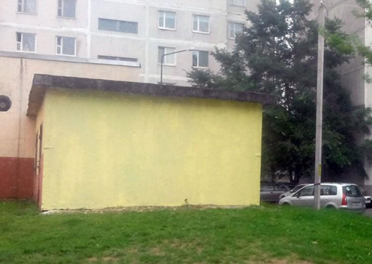 После четырех нападений вандалов на Леонова-Доцента стена превратилась в чистый холст. Фото: Сергей СЕРЕБРО.