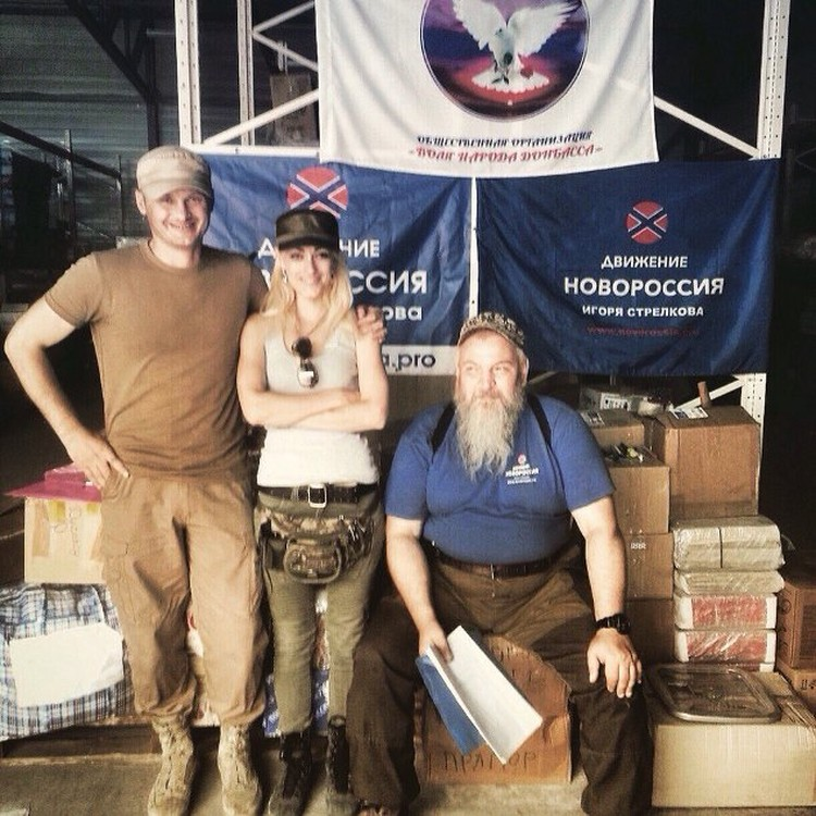В ДНР Наталья занимается гуманитарными грузами. Фото: vk.com/bodrova88