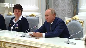 Путин обратился к атомщикам