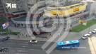 В Москве «Феррари» въехал в автобус
