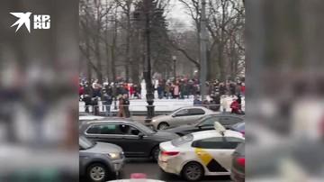 Вот так проходит акция в Санкт-Петербурге