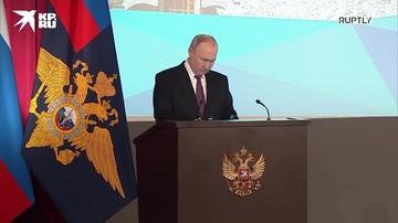 Путин: активно прорабатываются меры защиты правоохранителей и членов их семей от любых угроз, в том числе в соцсетях