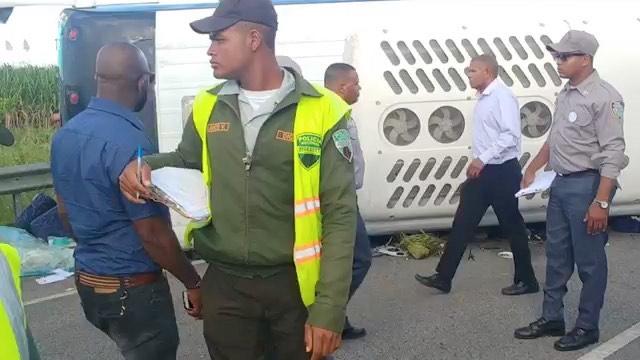 ДТП в Доминикане 27.11.2019
