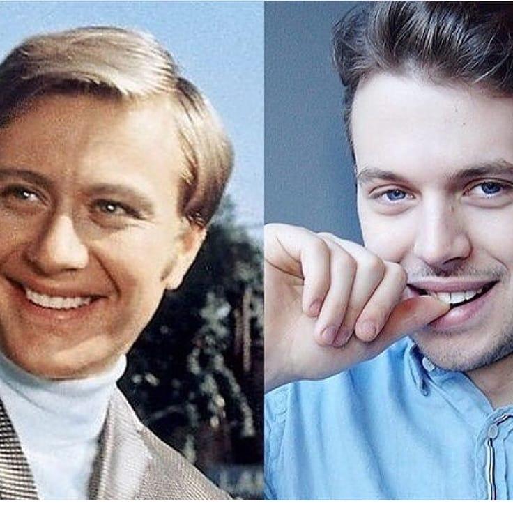 Дед Андрей Миронов и его внук Андрей Удалов.