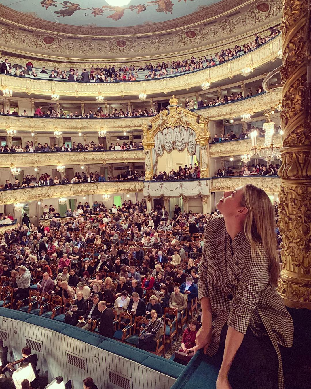 The stunning Mariinsky Theatre. Thank you for hosting us to a very special evening.