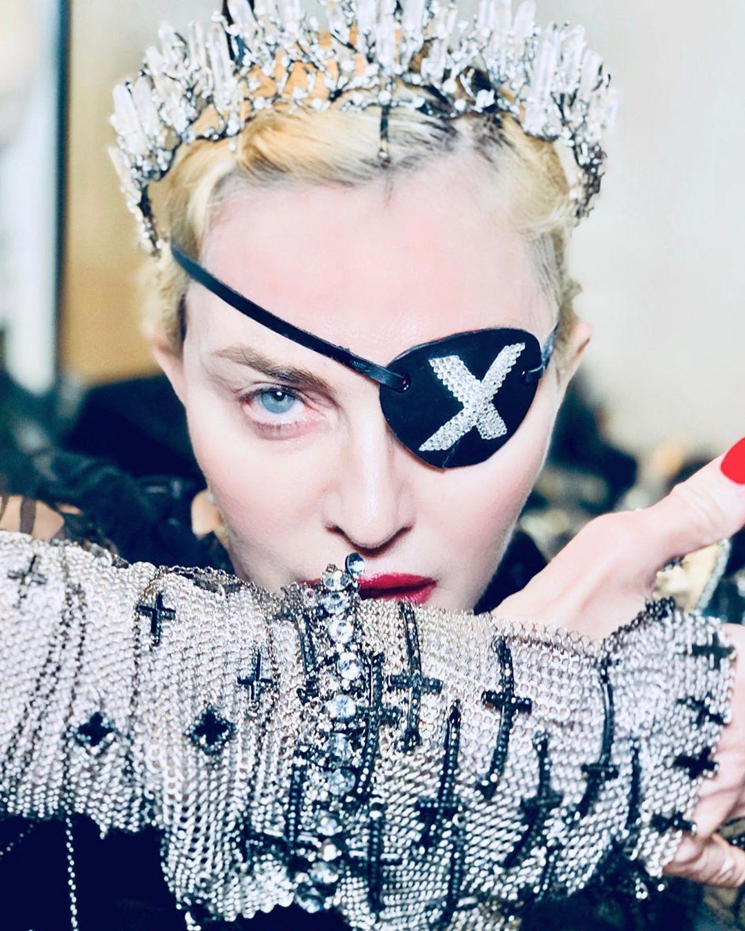 Мадонна готовится к выступлению на Евровидении