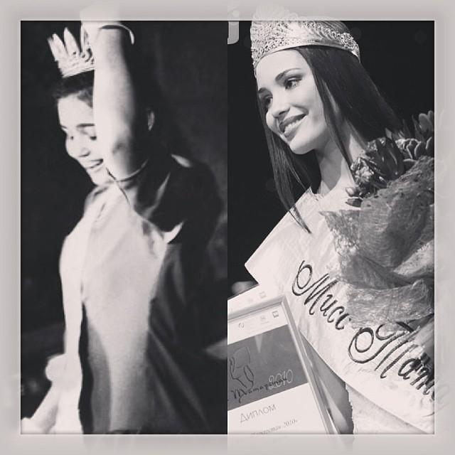 Две замечательные фотографии и невероятные ощущения! История повторилась;) спасибо #мисстатарстан #миссроссия #миссмира за то что мне есть вспомнить,за самые лучшие 17-19 лет!
