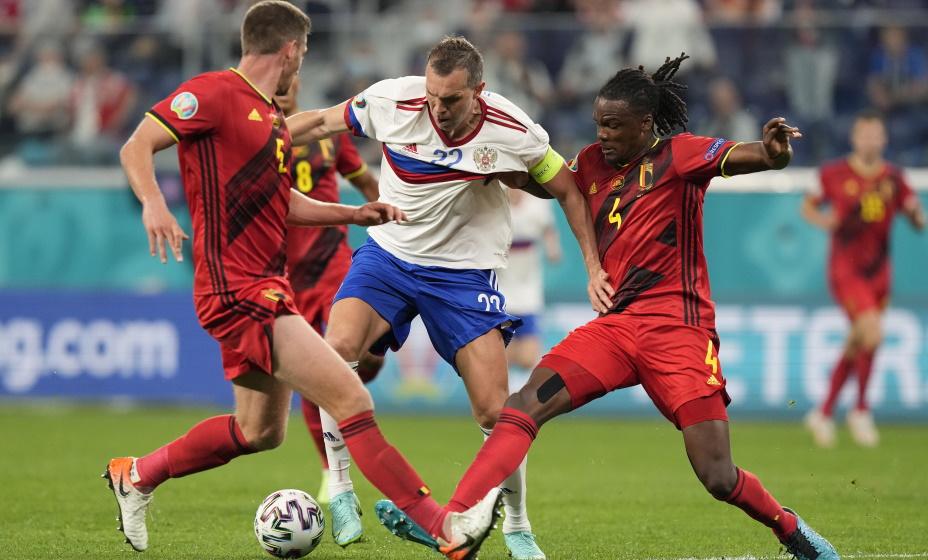 На Евро-2020 Дзюба не стал спасителем сборной России. Фото: Reuters
