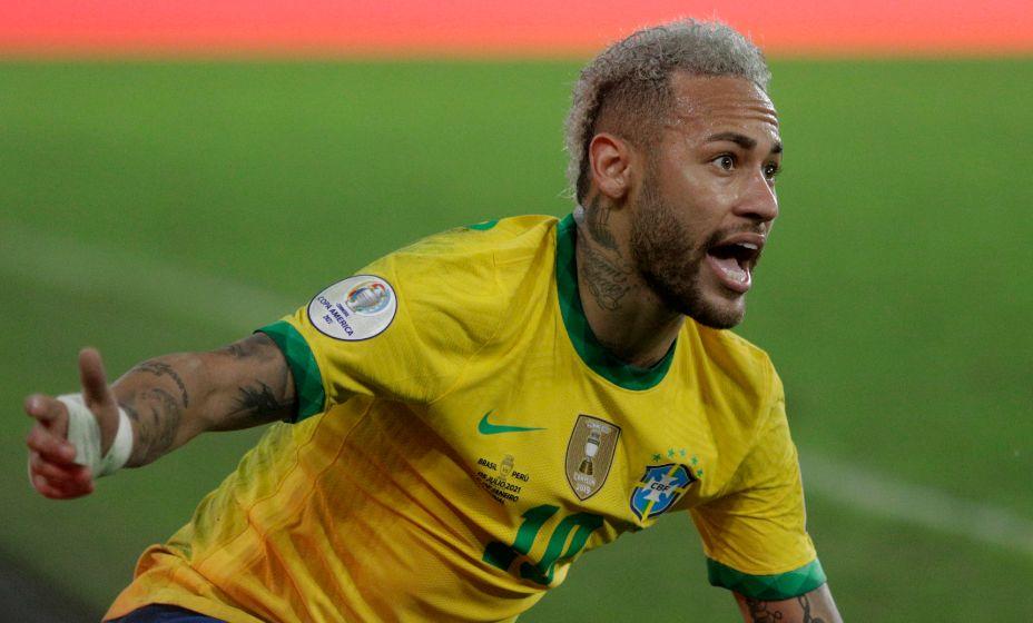 Главная футбольная звезда сборной Бразилии Неймар. Фото: Reuters