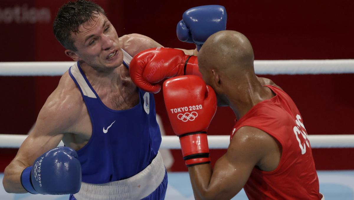 Россиянин Андрей Замковой - бронзовый призер Олимпиады. Фото: REUTERS