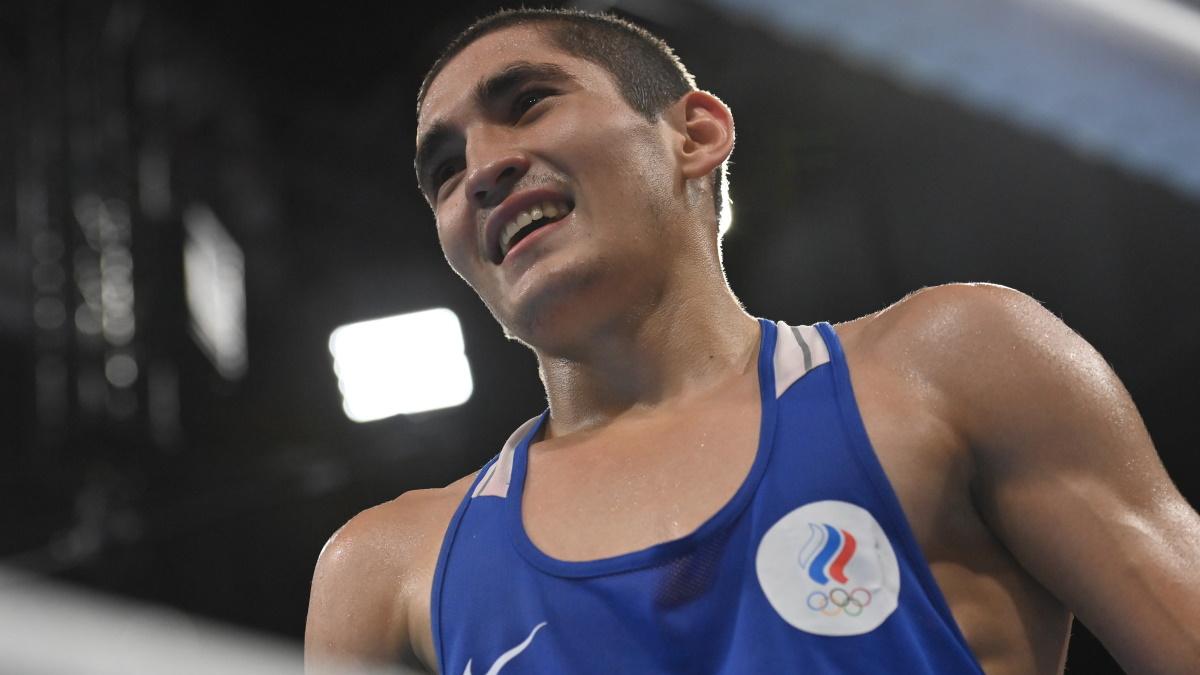 Альберт Батыргазиев бился с американцем в финале Олимпиады. Фото: Reuters