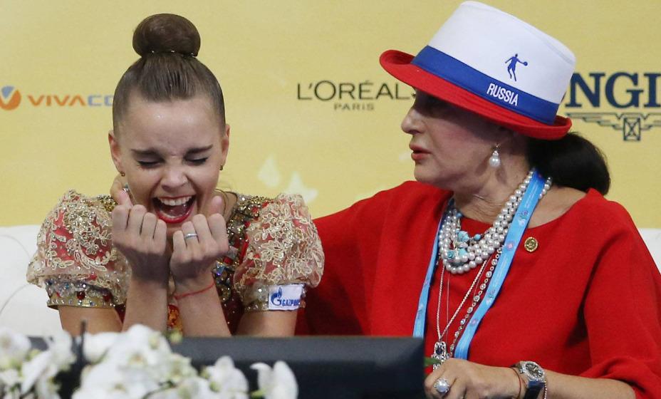Главный тренер по художественной гимнастике Ирина Винер жестко мотивирует своих воспитанниц. Фото: Global Press Look