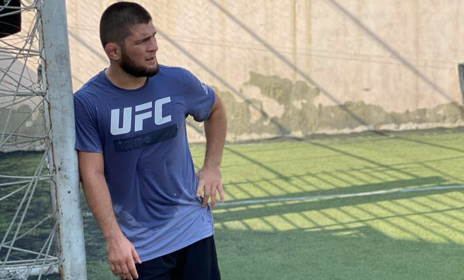 Экс-чемпион UFC Хабиб Нурмагомедов примет участие в футбольном матче. Фото: Instagram Хабиба Нурмагомедова