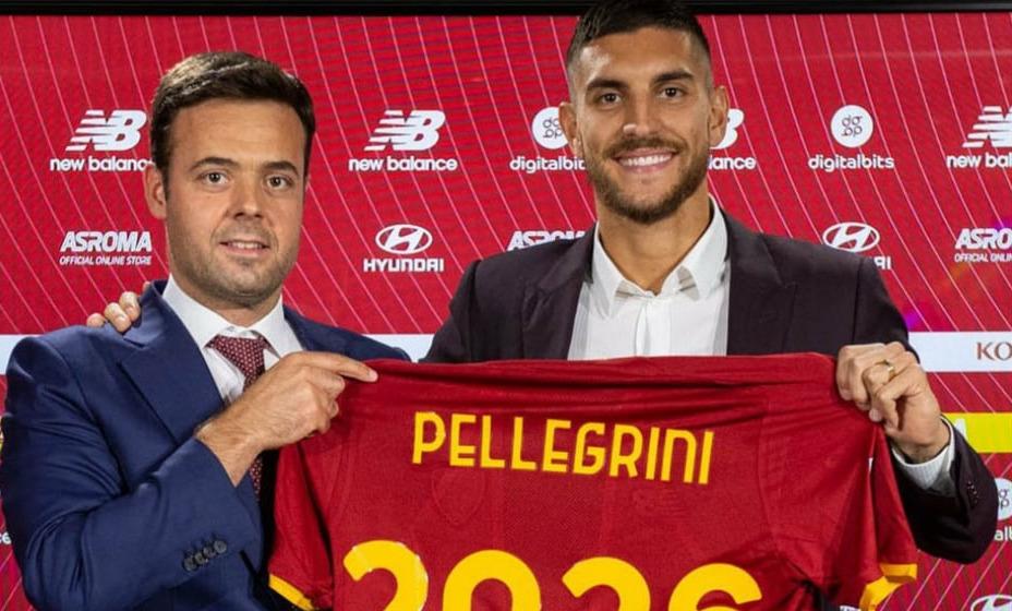 Лоренцо Пеллегрини подписал новый контракт с «Ромой». Фото: Instagram «Ромы»